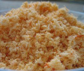 Món ruốc tôm từ tôm khô