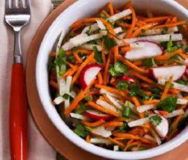 Món salad củ đậu đơn giản tại nhà