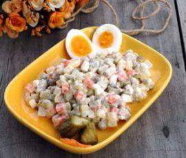 Món salad kiểu Nga giải nhiệt cho bữa ăn ngày hè