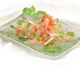 Món salad nha đam thanh mát giải nhiệt