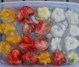 Món thạch dừa hoa quả đơn giản ngay tại nhà