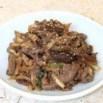 Món thịt bò thăn xào kiểu Hàn lạ miệng