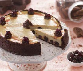 Món bánh Cheesecake anh đào siêu ngon