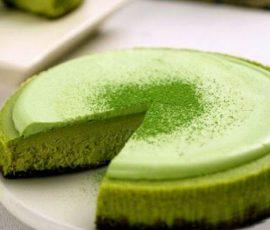 Món bánh matcha trà xanh