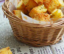 Bánh mì bơ tỏi - Món ăn vặt ngon tuyệt ngày mưa