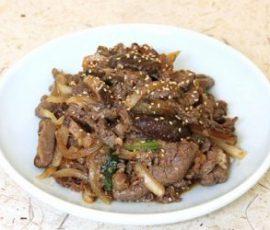 Món thịt bò thăn ướp xào kiểu Hàn ngon độc đáo