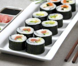 Sushi Nhật Bản ngon chuẩn vị