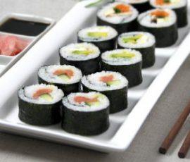 Sushi Nhật Bản ngon chuẩn vị ngay tại nhà