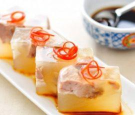 Món thịt đông hấp dẫn cho ngày Tết