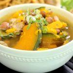 Món canh bí đỏ đậu phộng thơm ngon bổ dưỡng