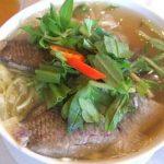 Món canh cá rô đồng ngon miễn chê