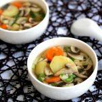 Món canh rau củ quả đơn giản mà ngon