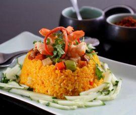Món cơm âm phủ xứ Huế đặc biệt thơm ngon