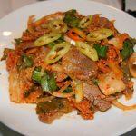 Món gỏi bò kim chi mang vị ngon đặc biệt