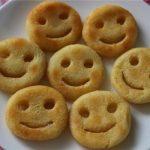 Khoai tây nướng hình mặt cười ngộ nghĩnh đáng yêu