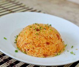 Món cơm chiên kim chi Hàn Quốc cực ngon