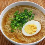 Món mì Ramen trứng của Nhật Bản
