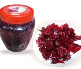 Món mứt Hibiscus siêu ngon cho ngày Tết