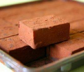 Món bánh nama chocolate Nhật Bản cực đơn giản