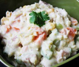 Món salad khoai tây kiểu Nhật thơm mềm ngon ngây ngất