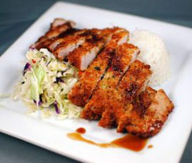 Món thịt thăn rán kiểu Nhật ngon lạ miệng
