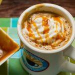 Món latte caramel đậu phộng thơm ngon