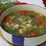 Món canh ngao chua nóng hổi cho buổi chiều se lạnh