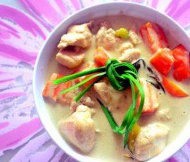 Món cà ri gà cốt dừa của Thái Lan ngon tại nhà