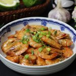 Món tôm rim nước dừa thơm ngon nức mũi
