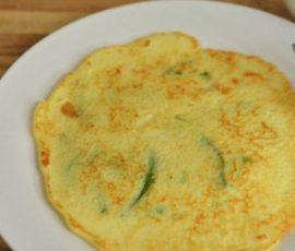 Món bánh Bindaetuk Hàn Quốc đơn giản tại nhà