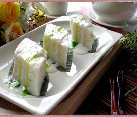 Món bánh củ năng nước cốt dừa