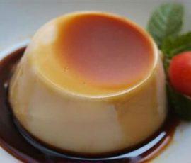 Món bánh flan sữa chua ngon mới lạ