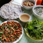 Bún chắt chắt – Món ăn dân dã của người dân Quảng Trị