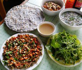 Bún chắt chắt - Món ăn dân dã của người dân Quảng Trị