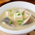 Món canh cá quả đậu phụ mềm ngon lạ miệng