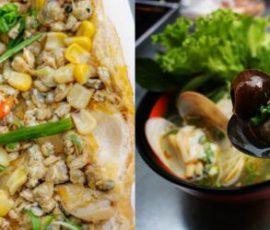 Bánh mì hến, hủ tiếu ốc - món ăn ngon mà lạ Sài Gòn