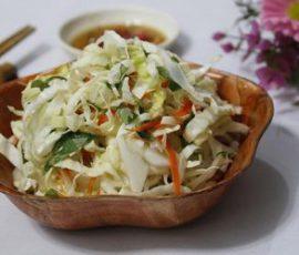 Món dưa bắp cải muối chua giòn thơm không bị đóng váng