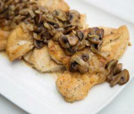 Món thịt gà sốt nấm thơm lừng cả căn bếp