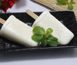 Món kem sữa dừa mát lịm giải nhiệt ngày nắng
