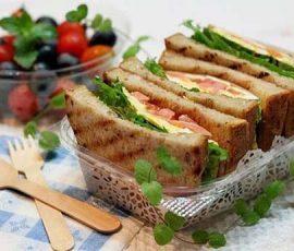 Món sandwich trứng ngon tuyệt cho bữa sáng