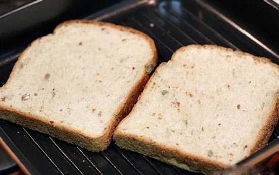 Làm nóng bánh mỳsandwich