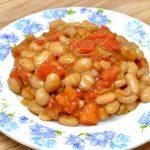 Món sốt rau củ đậu trắng – món chay ngon hấp dẫn