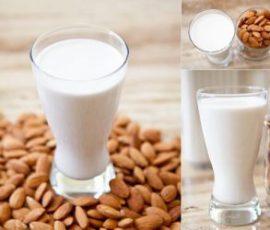Món sữa đậu nành hạnh nhân thơm ngon béo ngậy