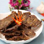 Món thịt bò khô kiểu Hồng Kông thơm cay dai ngọt
