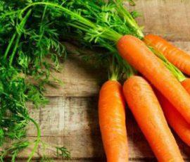Thực phẩm không nên kết hợp cùng cà rốt