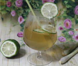 Món trà chanh sả thơm lừng cực hấp dẫn