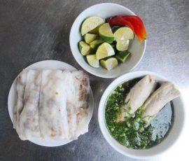 Món bánh cuốn canh - Đặc sản Cao Bằng