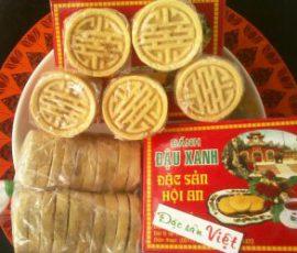 Món bánh đậu xanh nhân thịt ngon mà lạ ở xứ Quảng