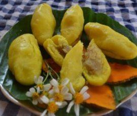 Món bánh nghệ thơm ngon độc đáo chỉ có ở Thái Bình
