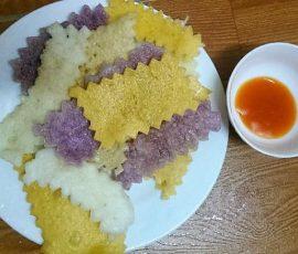 Món bánh xén ăn Tết của người Thái ở Điện Biên